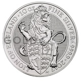 10oz Silver Coin - The Lion of England (2017)
