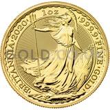 Britannia One Ounce Gold Coin (2020)