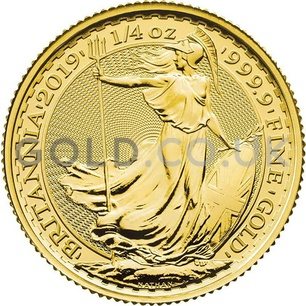 Quarter Ounce Britannia Gold Coins (2019)
