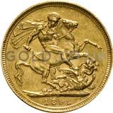 1892 Victoria Jubilee Head Gold Sovereign (Sydney Mint)
