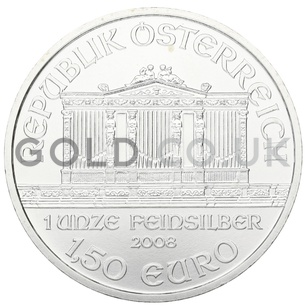 Silver Philharmonic 1oz (2008)