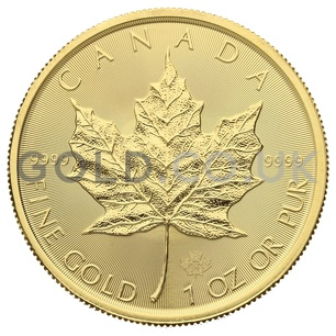1oz Canadian Maple Gold Coin (2020)