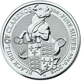 The Black Bull of Clarence - 2oz Silver Coin