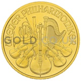 Gold Philharmonic Half Ounce Coin (2020)
