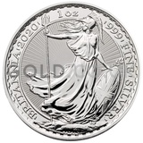 Silver 1oz Britannia Year of the Rat Lunar Edge (2020)