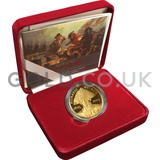 Gold Proof Five Pound Horatio Nelson Coin Boxed (2005)