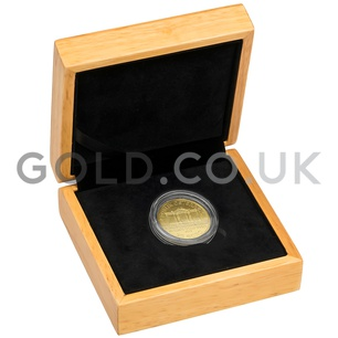 Gold Philharmonic Quarter Coin Gift Boxed (2019)