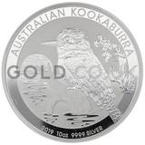 Silver Kookaburra 10oz (2019)