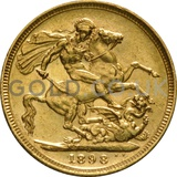 1898 Victoria Old Head Gold Sovereign (Sydney Mint)