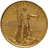 2008 1/10 oz Gold America Eagle