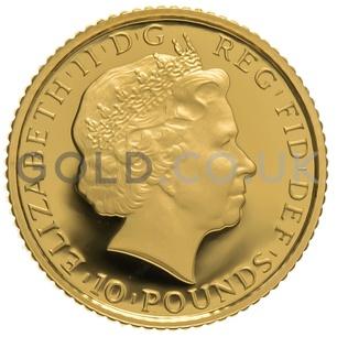 2011 Tenth Ounce Proof Britannia