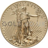 2016 1/2 oz Gold America Eagle