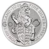 10oz Silver Coin - The Lion of England (2017)