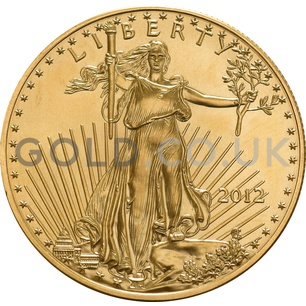 2012 1 oz Gold America Eagle