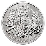 1oz Silver Royal Arms Coin (2020)