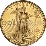 1999 1/4 oz Gold America Eagle