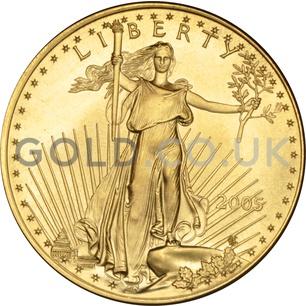 2005 1 oz Gold America Eagle