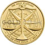 Gold Standard 1/4oz (2020)