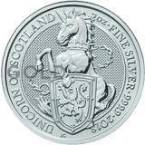 2oz Silver Coin - The Unicorn of Scotland (2018)