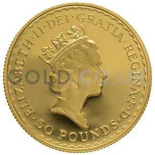 1994 Half Ounce Proof Britannia