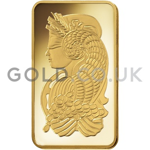 10oz Gold Bar