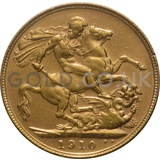 1910 Edward VII Gold Sovereign (Perth Mint)