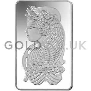 250g PAMP Silver Bar Minted