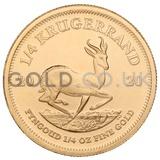 Gold Krugerrand 1/4oz (2020)