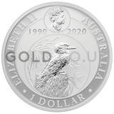 Silver Kookaburra 1oz (2020)