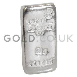 250g Umicore Silver Bar