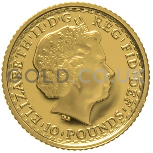 2005 Tenth Ounce Proof Britannia