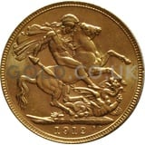 1912 George V Gold Sovereign (Perth Mint)