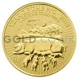 Gold Royal Mint Year of the Pig 1oz (2019)