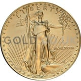 1989 1 oz Gold America Eagle