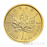Quarter Ounce Gold Maple (2021)