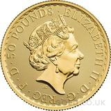 Half Ounce Gold Britannia (2021) - Gift Boxed
