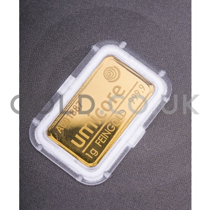 1g Umicore Gold Bar