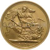1974 Elizabeth II Decimal Head Gold Sovereign