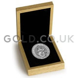 Silver White Lion of Mortimer 2oz Boxed (2020)