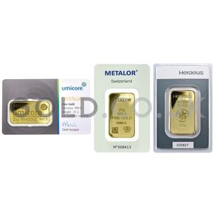 20g Gold Bar (Best Value)