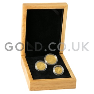 Three Coin Panda Set Gift Boxed (2020)