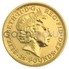 Quarter Ounce Gold Britannia (Best Value)