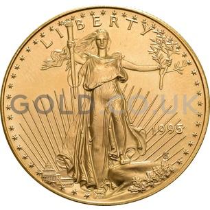 1995 1 oz Gold America Eagle