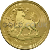 Gold Perth Mint Lunar Range