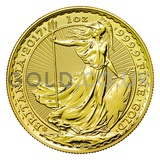 Gold Britannia 1oz 30th Anniversary (2017)
