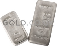 1kg Silver Bar (Our choice)