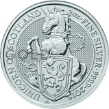 2oz Silver Coin - The Unicorn of Scotland (2018)