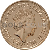 Elizabeth II, Fifth Head - Gold Sovereign