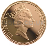 Elizabeth II, Third Head - Gold Sovereign