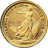Gold Tenth Britannias